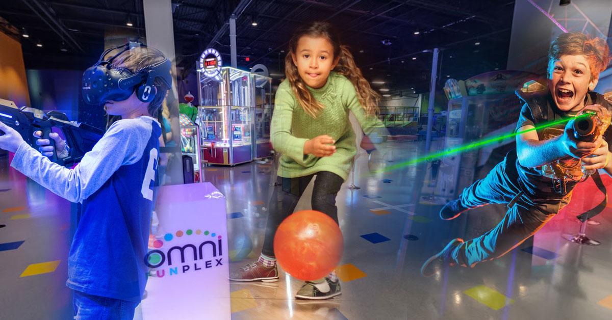 Funplex, bowling, trampoline park prices